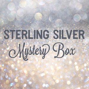 925 Sterling Silver CZ Earrings Mystery Box
